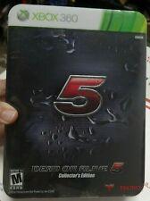 Dead or Alive 5 -- Collector's Edition (Microsoft Xbox 360, 2012) NO GAME LOOK !