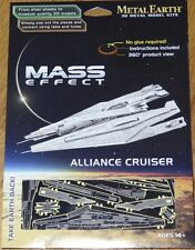 Mass Effect Alliance Cruiser Metal Earth 3D Laser Cut Metal Model Fascinations