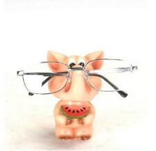Oink Pig Eyeglass Glasses Holder Stand Nose Rack Reading Spectacles Specs Gift
