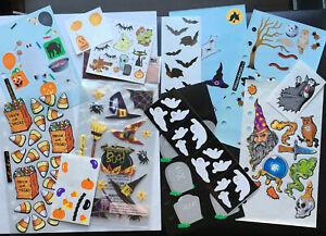 Lot of Halloween Stickers. Creative Memories, Mrs. Grossman +more!