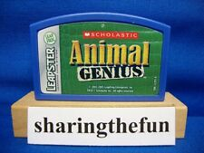 Leapster SCHOLASTIC ANIMAL GENIUS Game Cartrige Leap Frog