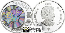 2007 Maple of Long Life Chinese Proof $8 Silver .9999 Fine (NT) (12174)