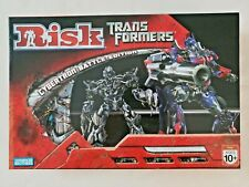 Risk: Transformers Cybertron Battle Edition  -  Parker Brothers 2007  Complete