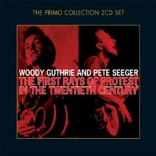 WOODY & SEEGER,PETE GUTHRIE - THE FIRST RAYS OF PROTEST... 2 CD NEW+