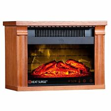 热浪涌迷你 GLO 效率 plus Touch 便携式电动壁炉取暖器...