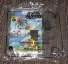 2018 Super Mario McDonalds Happy Meal Toy - Dual World Maze #8