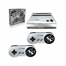 Retro-Bit Retro Duo Twin Video Game System Silver Black
