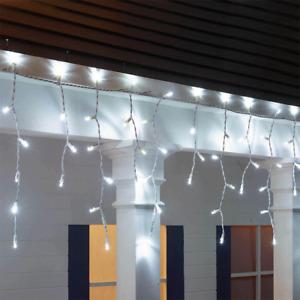 Member's Mark 18' LED Icicle Lights Cool White