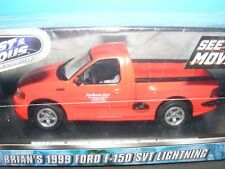 """Ford F150 1999 SVT  in Red   Brian's from """"FAST & FURIOUS""""  in 1:43rd. Scale"""