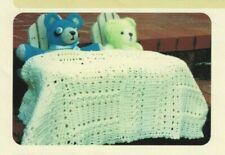 New listing Crochet Pattern by Frog Tree Collection Crocheted Baby Blanket