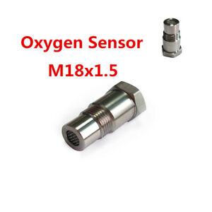 1x O2 Oxygen 90 Degree Sensor For Downstream Sensors Eliminates CEL's Catalyst