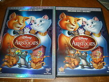 The Aristocats (Blu-ray/DVD, 2012, 2-Disc Set, Special Edition; DVD/Blu-ray)