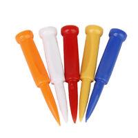 "bulk 35pcs Plastic Wedge Step Down Castle Golf Tees 70mm ( 2 3/4"" ) Mixed Colors"