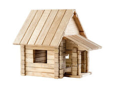IGROTECO Country House 4 in 1 Building Set DIY Wooden Construction Set