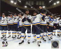 2019 St. Louis Blues Celebration Stanley Cup Finals 8x10 Authentic Photo 3