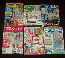 CROSS STITCH MAGAZINES x 6