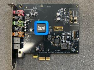 DELL CREATIVE LABS SOUNDBLASTER SB1350 RECON3D 5.1 THX PCI-E SOUND CARD J75NW