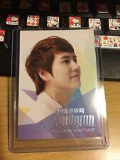 Super junior kyuhyun smtown live world tour OFFICIAL Photocard card Kpop K-pop