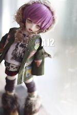 1 6 6-7 Dal SD BJD parrucca  MSD YOSD BB Blythe Dollfie Doll purple Breve