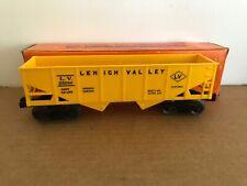 Lionel #6476 - 135, Hopper, 57 - 58 yrs. yellow, couplers OK, OB