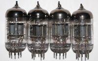 4x 6N1P-EV MATCHED QUAD Same data NOS VOSKHOD Rocket ~E88CC ~6DJ8 ~6922