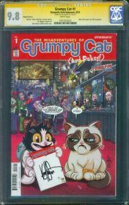 Grumpy Cat 1 CGC 9.8 SS Ken Haeser Exclusive Variant cover L Garfield type RIP