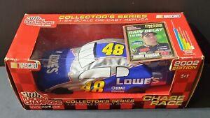 2002 Jimmie Johnson #48 Lowe's Diecast 1:24 Racing Champions 1/500 - G1B3