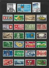 SWITZERLAND stamp selection (REF.653)