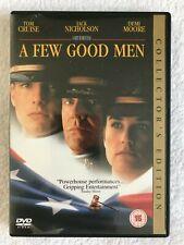 A Few Good Men - Collector's Edition -DVD - R2 - PAL - Tom Cruise Jack Nicholson