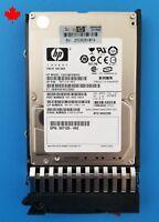 "HP G5 G6 G7 2.5"" 146GB 10K SAS SFF DP Hard Drive HDD 507129-002 418399-001 Tray"