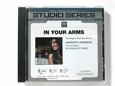 Studio Series - Meredith Andrews In Your Arms - accompaniment track christian cd