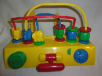 """1992 Safety First Sensory 7"""" Attaching Baby Toy"""