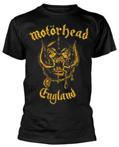 Motorhead 'England Classic Gold' T-Shirt - NEW & OFFICIAL!