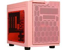 APEVIA X-QPACK3-PK Pink SECC Micro ATX Cube Case Computer Case