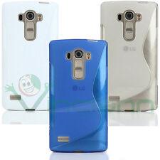 Pellicola+Custodia WAVE per LG G4s cover case flessibile TPU gel aderente nuova