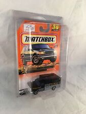 MATCHBOX 1999 #34 Chevy Swat Ambulance - Mint to NM Card in Protective Case