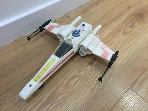 StarWars vintage X-wing fighter General Mills. 100% complete