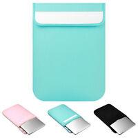 "Plain Color Laptop Sleeve Case Bag For MacBook Air/Pro 11""/13""//15""/15.6"" Lenevo"