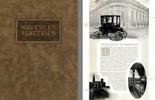 Waverley Electrics 1911 - The Silent Waverley Electrics 1911