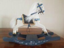 MINI WOODEN ROCKING HORSE