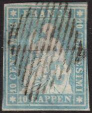 Schweiz Nr. 14 I leicht berührt, sauberer Rautenstempel Mi. 550,-