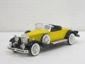 Rolls-Royce Phantom II Cabrio 1931 in gelb/schwarz, OVP, Rio 40, 1:43