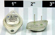 Motorola JANTX2N6058 Transistor NPN. 80 Voltage 12 Amp 150 Watt