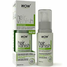 WOW Hair Vanish Sensitive - 100 ml (Dermatologist Tested) - Free ship