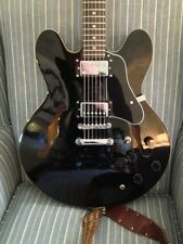 Black 5 ply pickguard for EARLY Epiphone ES335 DOT or Dot Deluxe. Gibson Style
