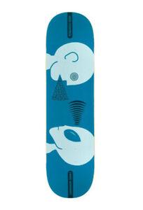 "Alien Workshop Mind Control Tonal Skateboard Deck - 8.12"" inch blue free grip"