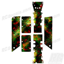 Traxxas E-Maxx - Chassis Plate + Skid Protector Decals - Chameleon - TRA3922A