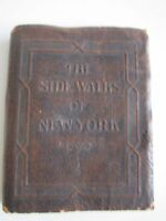 "1923 SIDEWALKS OF NEW YORK BOOK - BY BERNARDINE KIELTY - 4"" X 3"" - TUB BN-16"