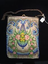MICRO BEADED Vintage Purse Art Deco