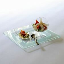 Glass Effect Canape Plate